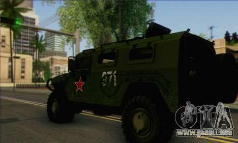 GAZ 2975 Tigre para GTA San Andreas left