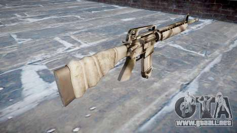 El rifle M16A2 para GTA 4