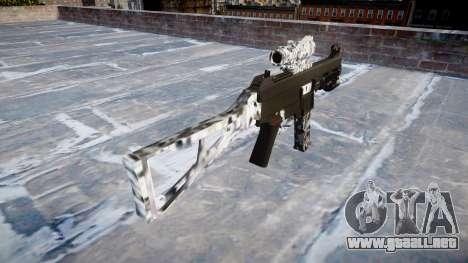 Pistola de UMP45 Diamante para GTA 4 segundos de pantalla
