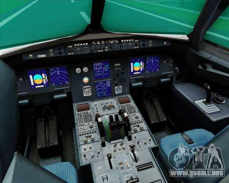 Airbus A321-200 S7 - Siberia Airlines para GTA San Andreas interior