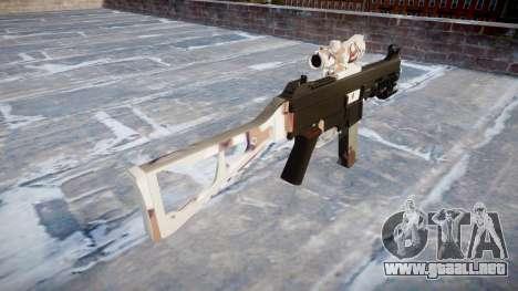 Pistola de UMP45 Choco para GTA 4 segundos de pantalla