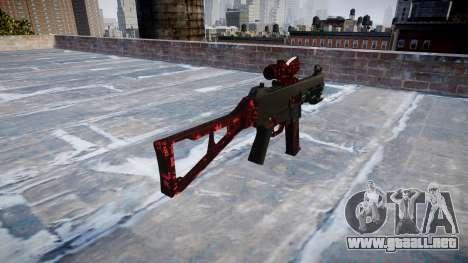 Pistola de UMP45 Arte de la Guerra para GTA 4 segundos de pantalla