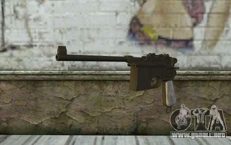 Mauser C96 v1 para GTA San Andreas