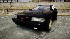 GTA V Vapid Cruiser Police Unmarked [ELS] Slick para GTA 4