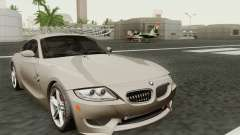 BMW Z4M Coupe 2008 Stock para GTA San Andreas