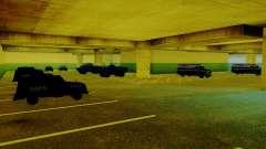 Vehículos nuevos en el LVPD para GTA San Andreas