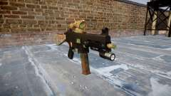 Gun UMP45 Jungle para GTA 4