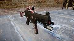 Pistola de UMP45 están inyectados de sangre. para GTA 4