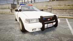 GTA V Vapid Cruiser LSS White [ELS] para GTA 4