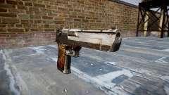 Pistola Desert Eagle Dragón para GTA 4