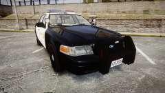Ford Crown Victoria LASD [ELS] Marked para GTA 4