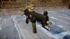 Pistola de UMP45 UN ejército de fans de la piel AU para GTA 4