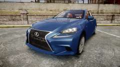 Lexus IS 350 F-Sport 2014 Rims1 para GTA 4