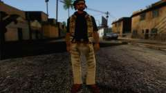 Yardies from GTA Vice City Skin 1 para GTA San Andreas