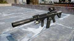 Máquina Táctico M4A1 CQB destino para GTA 4