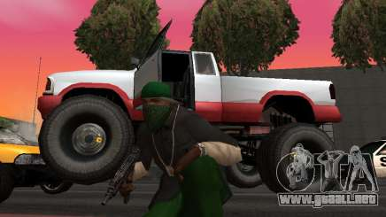 Nuevas texturas de las ruedas de Monster para GTA San Andreas