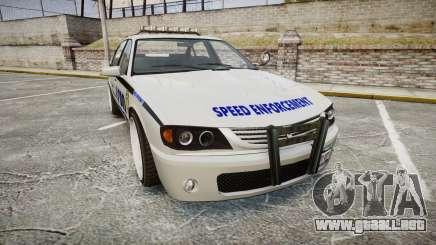 Declasse Merit Police Patrol Speed Enforcement para GTA 4