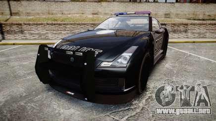 GTA V Annis Elegy RH8 Police [ELS] para GTA 4