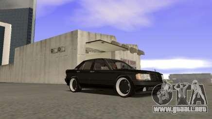 Mercedes-Benz 190E 3.2 AMG para GTA San Andreas