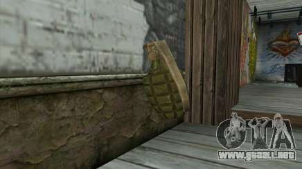 NOS Граната de Battlefield: Vietnam para GTA San Andreas