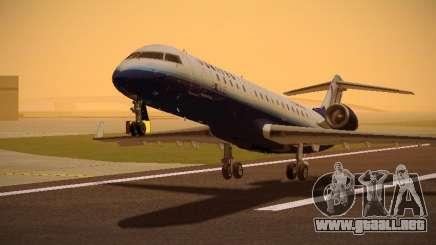 Bombardier CRJ-700 United Express para GTA San Andreas
