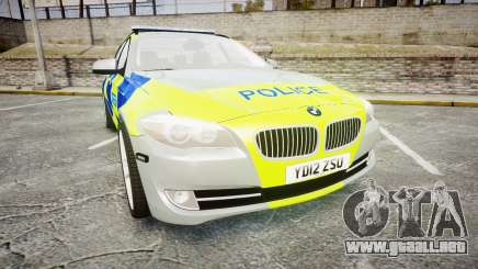 BMW 530d F11 Metropolitan Police [ELS] para GTA 4
