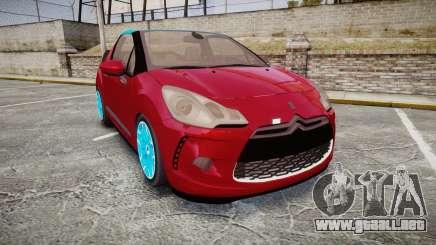 Citroen DS3 Convertible para GTA 4
