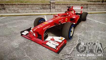 Ferrari F138 v2.0 [RIV] Alonso TFW para GTA 4