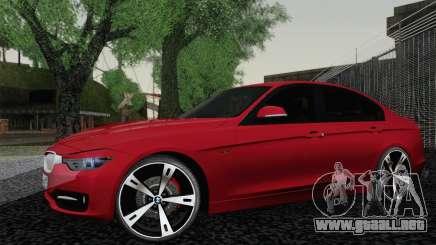 BMW 3 Series F30 2013 para GTA San Andreas