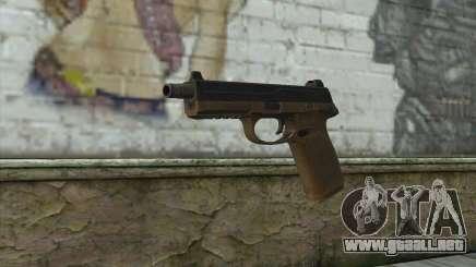 FN FNP-45 Sin Silenciador para GTA San Andreas
