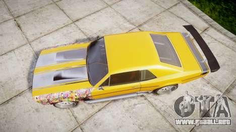 Declasse Tampa GT para GTA 4 visión correcta