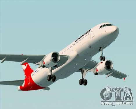 Airbus A320-200 Qantas para el motor de GTA San Andreas