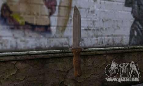 Daryl Knife from The Walking Dead para GTA San Andreas segunda pantalla