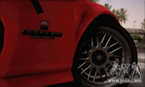GTA 5 Bravado Banshee para GTA San Andreas vista posterior izquierda