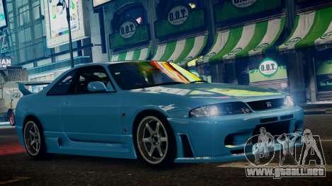 Nissan Skyline BCNR33 JUN VER para GTA 4