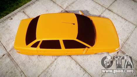 ВАЗ-2110 Bogdan rims1 para GTA 4 visión correcta