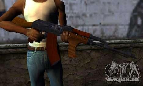 Romanian AKM para GTA San Andreas tercera pantalla