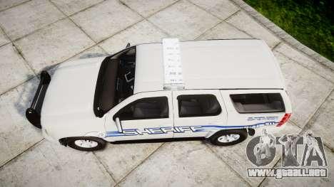 Chevrolet Tahoe [ELS] Liberty County Sheriff para GTA 4 visión correcta