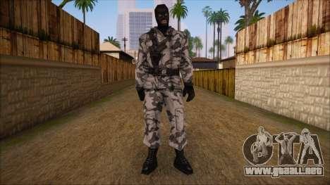 Artic from Counter Strike Condition Zero para GTA San Andreas