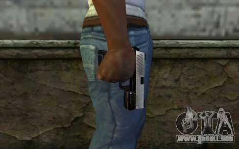 Pistol from Deadpool para GTA San Andreas tercera pantalla