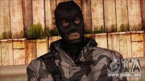 Artic from Counter Strike Condition Zero para GTA San Andreas tercera pantalla