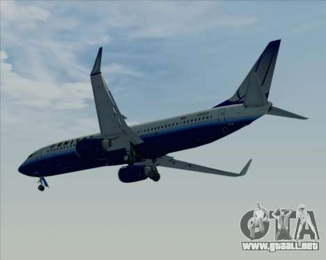 Boeing 737-800 United Airlines para GTA San Andreas