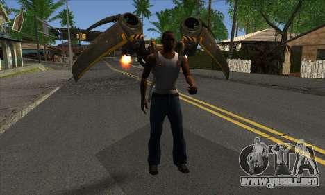 Jetpack from Batman Arkham Origins para GTA San Andreas tercera pantalla