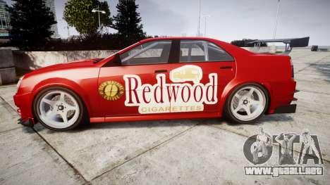 Albany Presidente Racer [retexture] Redwood para GTA 4 left