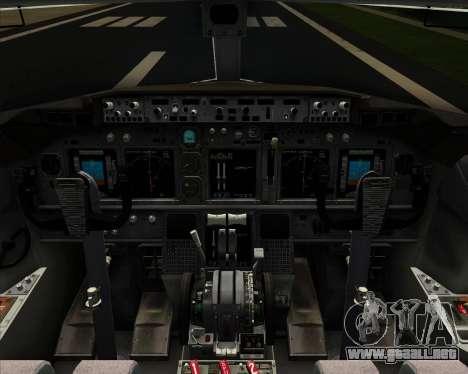 Boeing 737-800 United Airlines para el motor de GTA San Andreas