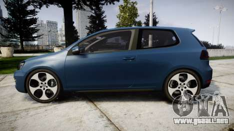 Volkswagen Golf GTI 2010 para GTA 4 left