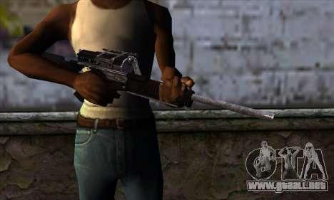 Calico M951S from Warface v1 para GTA San Andreas tercera pantalla