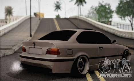 BMW M3 E36 Bosnia Stance para GTA San Andreas left