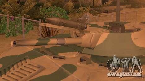 BMD-1 de ArmA armed Assault Camuflaje para GTA San Andreas vista posterior izquierda