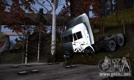 Pista de off-road 2.0 para GTA San Andreas sexta pantalla